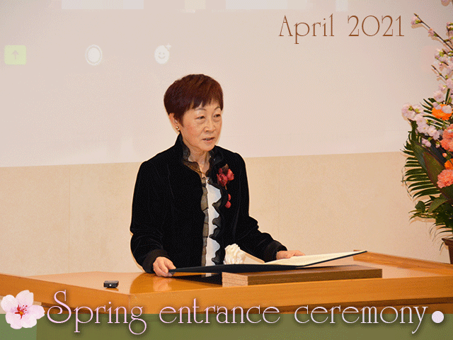 President's Message for New Students, April 2021