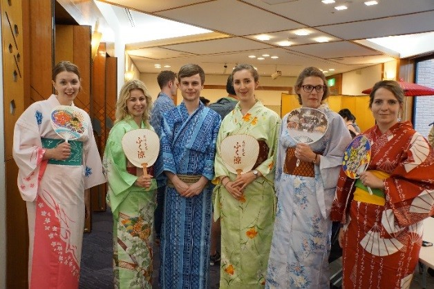 Japanese Culture Experience with Yukata